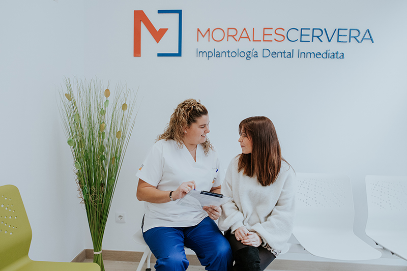 Morales Cervera odontología con total garantía